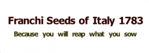 Franchi Seeds Of Italy Promo Codes