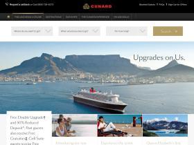 Cunard Voucher Codes
