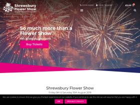 Shrewsbury Flower ShowCode de promo